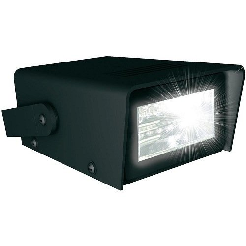 PartyFunLights Blitzlicht led b/o, 12,5 x 9,5 x 5 cm 86079 (Batteriebetrieb)