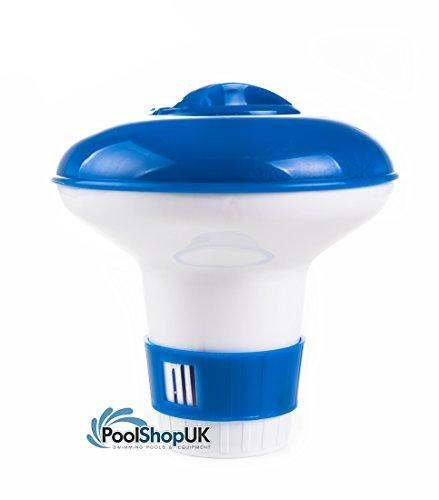 Preisvergleich Produktbild Kleine Floating chemischen Spender Pool und Whirlpool,  20 g Chlor oder Brom Tabletten