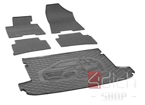 Passgenaue Kofferraumwanne und Gummifußmatten geeignet für Hyundai Tucson ab 2015 - EIN Satz
