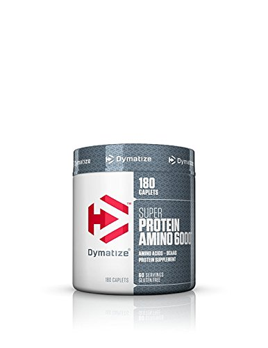 Dymatize Super Amino New Muscle Growth and Recovery 6000mg - 180 Caplets