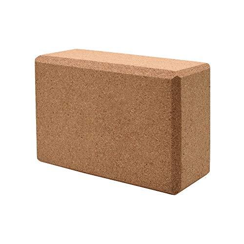 SONSYON Yoga Block - Hohe Härte Umweltfreundliche Blöcke Ziegelstein mit Hoher Dichte und Yoga Gurtsatz,Gelb (1 * Block),Blöcke Größe:16.5 * 24 * 9cm