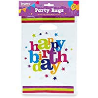 20 pack Happy Birthday Bags | Party Bags for Party Bag Fillers | 2 Birthday Party Ebooks Included