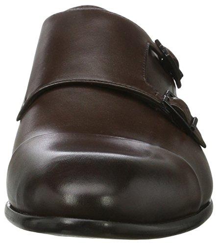 HUGO Herren Dressapp_Monk_buctst 10199033 01 Derby Schuhe Braun (Dark Brown)