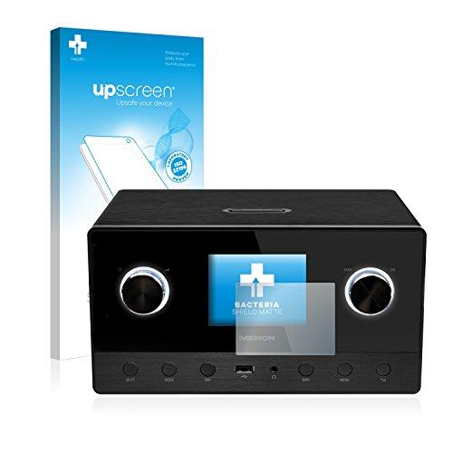upscreen Antibakterielle Schutzfolie Matt kompatibel mit Medion Life P85111 (MD 87295) - Anti-Reflex Displayschutzfolie, Anti-Fingerprint, Anti-Kratzer