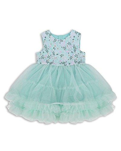 The Essential One - Bebé Infantil Niñas - Vestido de Princesa Fiestas - 18-24 M - Verde - EOT384
