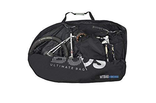 Buds-Sports - Bolsa de bicicleta MTBag Original - Bolsa de transporte para Bicicleta de montaña sin desmontar la rueda trasera