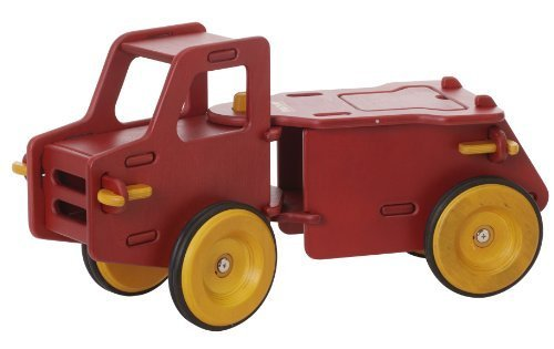 Moover Dump Truck Red by HABA (English Manual) (Dump Red Truck)