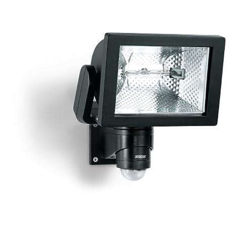 Steinel HS 500 Noir - Projecteur halogène à détection infrarouge