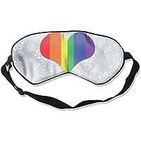 Rainbow Heart 99% Eyeshade Blinders Sleeping Eye Patch Eye Mask Blindfold For Travel Insomnia Meditation preisvergleich bei billige-tabletten.eu