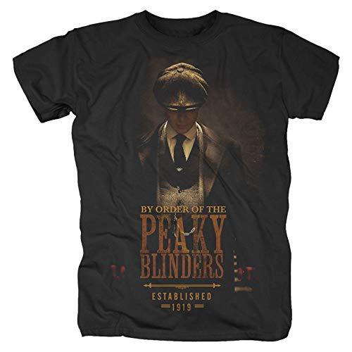 Peaky Blinders - Gangs Of Birmingham EST 1919 Camiseta Negro XXL
