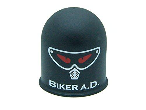 Schutzkappe für Anhängerkupplung Biker aD Roller Evil Biker Böser Biker schwarz