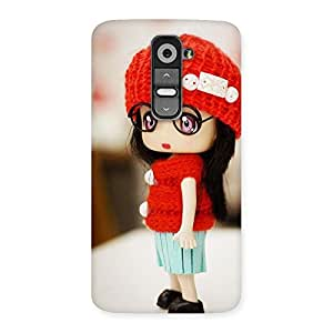 Unicovers Cute animtes girl Back Case Cover for LG G2