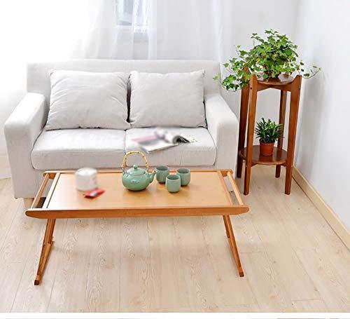 YP An der Wand befestigter Tisch, kreativer Designtisch, Klapptisch, niedriger Tisch aus Bambus, Wohnzimmer, Esszimmer, Lernen, Arbeit, Schwangere Frauen, Heimbüromöbel, Haushaltstisch,Klein -