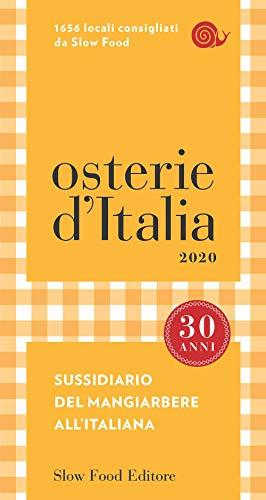 Osterie dItalia 2020: Sussidiario del mangiarbere allitaliana ...