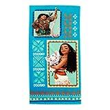 Moana Handtuch mit Kunstwerk von Maui, Moana und Pua