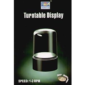 Trumpeter 9831 - Display Giratorio 84 x 47 mm w / 83 mm Domo Importado de Alemania