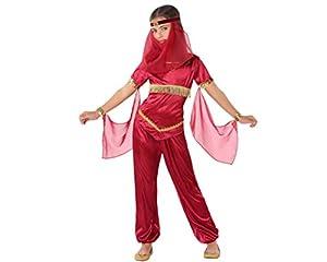 Atosa-61483 Atosa-61483-Disfraz Princesa Arabe-Infantil Niña, Color rojo, 5 a 6 años (61483