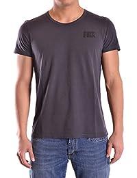 Dirk Bikkembergs Hombre C746LFJMB074C74 Negro Algodon T-Shirt