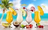 6 Gläser Fiesta Hurricane Cocktail Glas