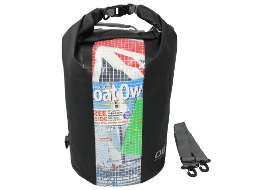 Price comparison product image OverBoard Waterproof 30 LTR Windowed Dry Tube 600D PVC Tarpaulin Bag - Back