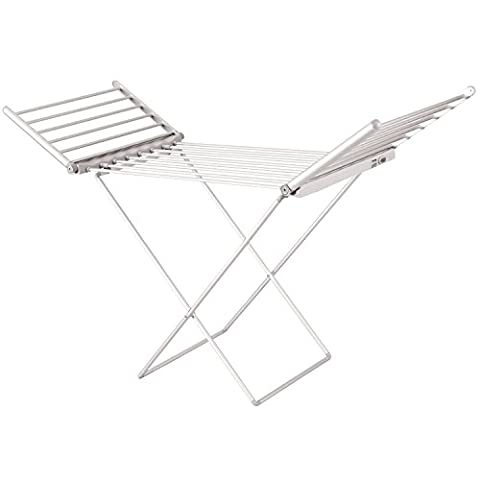 Oypla Electric Extendable Heated Folding Clothes Horse Airer