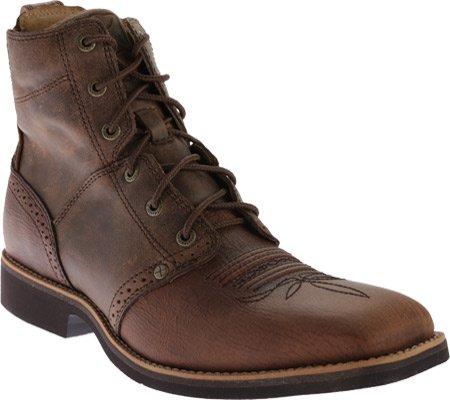 Twisted X Boots  Calf Roper Lacer, Bottes et bottines cowboy homme Angoissé