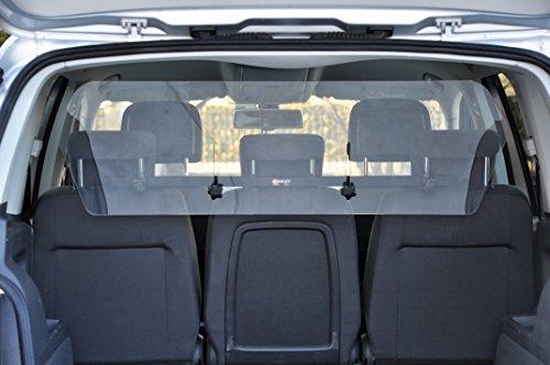 Camon Walky Air - Divisorio Separatore Universale Baule Trasparente Barriera Auto Bagagliaio per Animali Cane