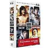 JACKIE CHAN COFFRET 4 FILMS : LA HYENE INTREPIDE, LE MARIN DES MERS DE CHINE, POLICE...