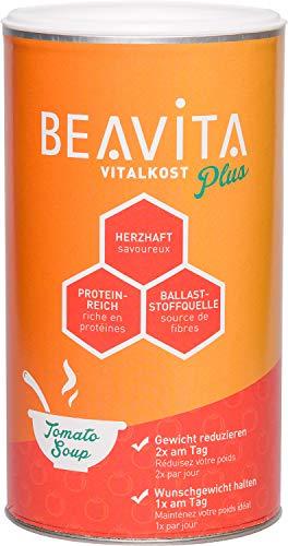 BEAVITA Vitalkost Plus – Tomatensuppe 500 g – Diät-Suppe für unbeschwertes Abnehmen – reicht für 10 Suppen – Kalorien sparen & Gewicht reduzieren – plus Vitamine & Nährstoffe, nur 204 kcal pro Portion