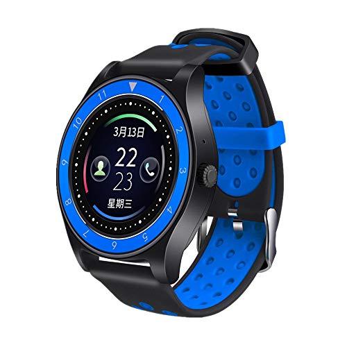LRWEY Fitness Armband mit Pulsmesser, Smart Watch Telefon Schrittzähler Sitzend Erinnern Sie Schlaf-Monitor, für iOS Android Handy