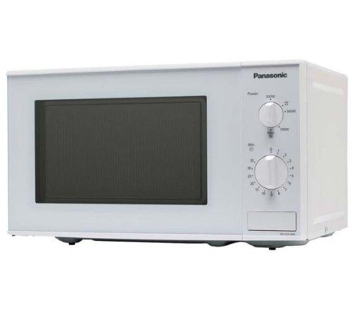 Panasonic NN-E201W Encimera Solo - Microondas (Encimera, Solo microondas, 20 L, 1100...