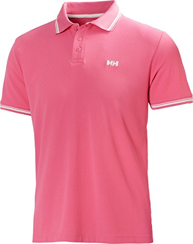 Helly Hansen Herren Polo Kos Short Sleeve - Aurora Pink