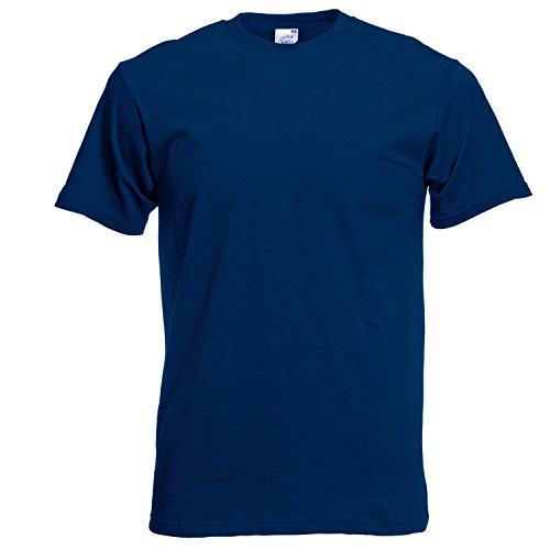 Fruite of the Loom Original T-Shirt aus Baumwolle, vers.Farben Navy