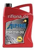 Alpine PSA 5w30 (EUR 5,40/L) 5Liter Kanister füt Toyota