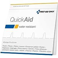 First Aid Only QuickAid Nachfüllpack Wasserfeste Pflaster, 1er Pack (1 x 45 Stück) preisvergleich bei billige-tabletten.eu