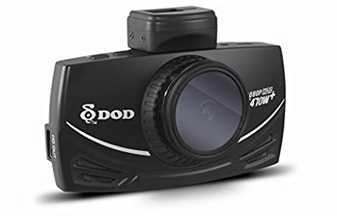 DOD TECH LS470W+ Sony Exmor Powered Full HD Dash Camera with Polarizing Filter upto ISO 12800