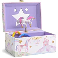 Jewelkeeper Girl's Musical Jewellery Storage Box - Multiple Design and Tune Options Available