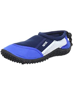 Seac Zapatos REEF - Zapatos color azul y blanco, talla 35