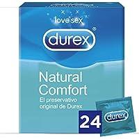 Durex Preservativos Originales Naturales Natural Comfort - 24 Condones