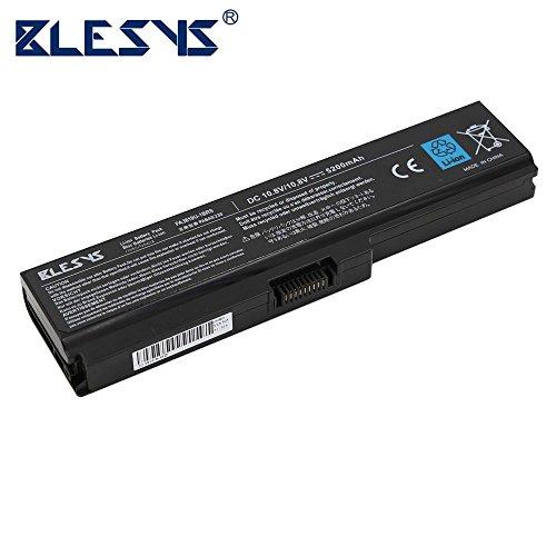 BLESYS - 10.8V/5200mAh TOSHIBA PA3817U-1BAS, PA3817U-1BRS, PA3818U-1BRS, PA3819U-1BRS, PA3816U-1BRS, PA3816U-1BAS Ersatz Laptop Akku fit Toshiba Satellite A600 A655 A660 A660D A665 A665D C600D C675 C675D L630 L635 L640 L645 L645D L650 L655 L655D L670 L670D L675 L675D L700 L730 L735 L735D L740 L745 L745D L750 L750D L770 L770D L775 L775D M640 M645 P740 P740D P745 P745D P750 P750D P755 P755D P770 P770D P775 P775D Serie