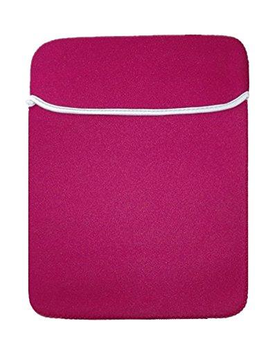17 Zoll Basics Schutzhülle Aktentaschen Schulter Tasche Notebooktasche Laptop Sleeve Laptop Hülle für Tablets Rot