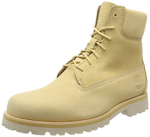 Timberland Chilmark 6 Inch, Botas Clasicas para Hombre, Amarillo (New Wheat Barefoot Buffed K37), 45 EU