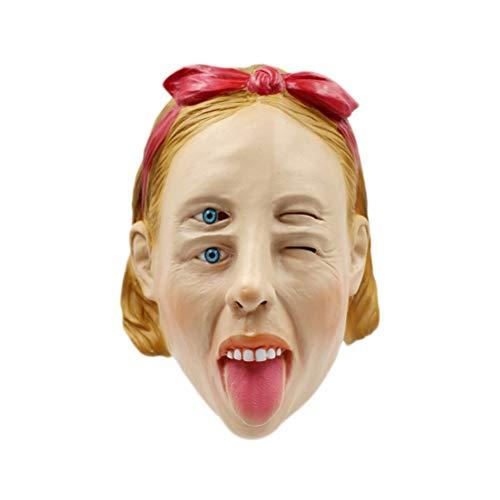 BESTOYARD Halloween Scary Horror Zombie Maske Cosplay Kostüm -