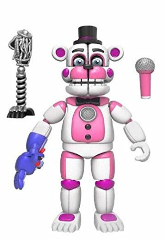FIVE NIGHTS AT FREDDY'S SISTER LOCATION - FUNTIME FREDDY EXCLUSIVE ACTION FIGURE