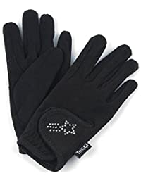 Toggi Kids' Gleam Bling Gloves Pants, Black, Small