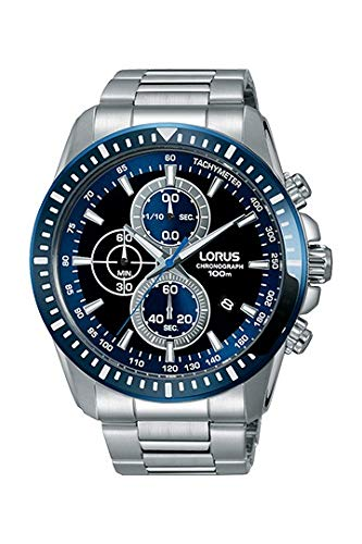 Lorus Reloj Cronógrafo para Hombre de Cuarzo con Correa en Acero Inoxidable RM341DX9