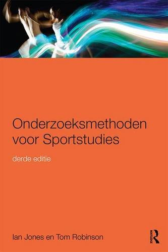 Onderzoeksmethoden voor Sportstudies: 3e druk