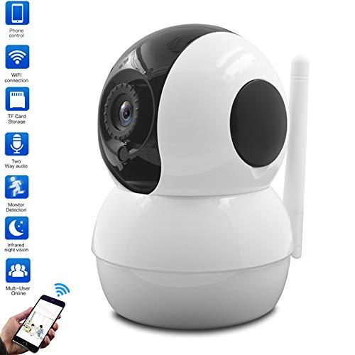 LQQZZZ wasserdichte IP-Kamera, 1080P Nachtsicht-IP-Kamera WiFi-Nachtsicht-CCTV-Sicherheitsüberwachung Mobile Erkennung Zweiwege-Audiomonitor