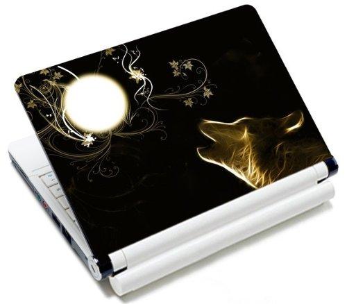 MySleeveDesign Notebook Skin Aufkleber Folie Sticker für Geräte der Größe 10,2 Zoll / 11,6-12,1 Zoll / 13,3 Zoll / 14 Zoll / 15,4-15,6 Zoll mit VERSCH. DESIGNS - New Moon