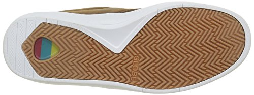 Globe the Eagle Sg, Baskets Basses Homme Marron - Braun (Toffee/White)